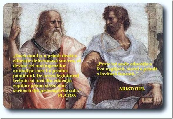 Poate ar trebui să reintroducem în toate facultățile românești studiul obligatoriu al marilor filozofi și gânditori ai Greciei Antice.
