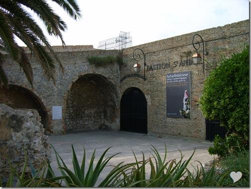 Bastionul  devenit muzeu