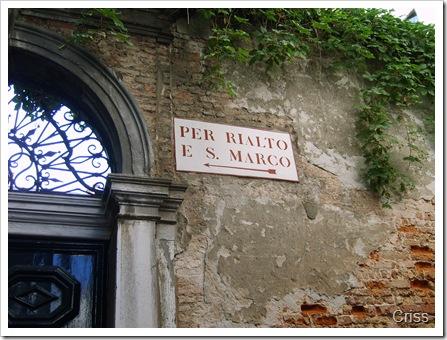 Toate drumurile duc la...Rialto și San Marco.