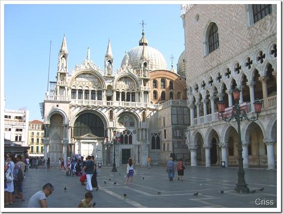 ....Și basilica San Marco alături de Palatul Dogilor