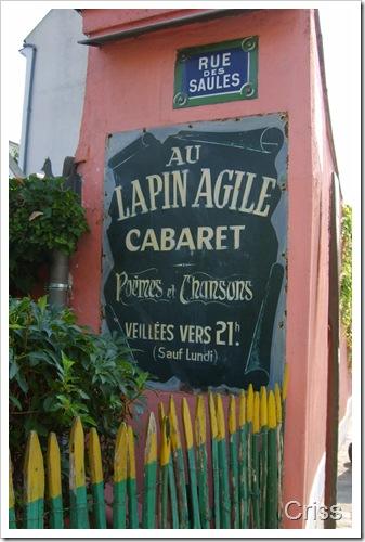 A fost odata un cabaret..în Montmartre.