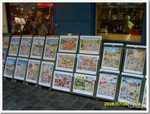 Arta in Montmartre..