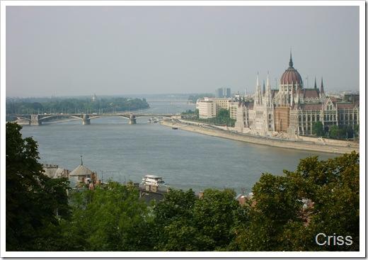 Dunărea la Budapesta