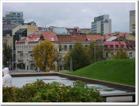 Vedere tot din Vilnius.