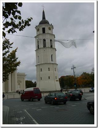 Domul din Vilnius - turnul.