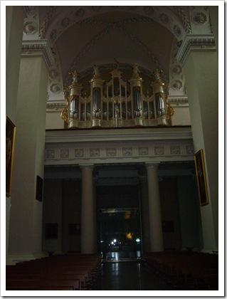 Orga din interiorul Domului.
