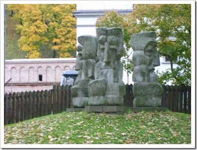 Grup statuar de lângă  Dom.