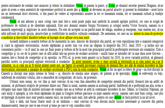 Pagina 3 din discurs