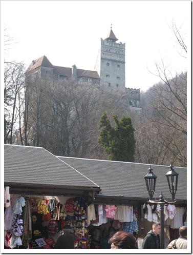 Castelul Bran și kitsch-urile aferente.