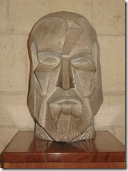 Portretul lui Gaudi de Josep Maria Subirachs