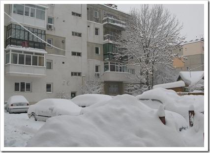 Iarna cartierelor romanesti